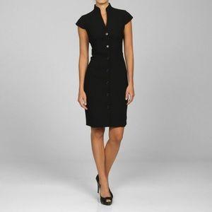 Calvin Klein Button Down Shirt Dress Navy sz 10